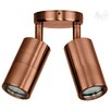 <strong>Double Adjustable 2 Light Wall Pillar Light in Copper</strong> by Havit Lighting