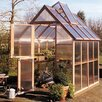 "Sunshine Gardenhouse Mt. Hood 8' 4"" H x 6.0' W x 8.0' D Polycarbonate 4.5 mm GardenHouse"