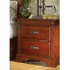 <strong>Kalispell 2 Drawer Nightstand</strong> by A-America
