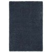 <strong>Taza Metalic Blue Shag Rug</strong> by Dynasty Rugs