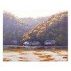 <strong>Graham Gercken</strong> Australian Painting Patonga Creek on Canvas