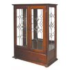 <strong>Adelaide 2 Door 1 Drawer Crystal Cabinet</strong> by Florina Furniture