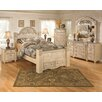 Signature Design by Ashley Saveaha Four Poster Storage Bedroom Collection