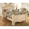 Signature Design by Ashley Saveaha Four Poster Bed