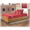 <strong>Signature Design by Ashley</strong> Elsa Twin Loft Caster Bed Frame