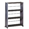 "Mayline Group Accent 44.5"" H Four Shelf Shelving Unit"