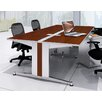 """Mayline Group 48"""" W x 60"""" D Dual-Sided Computer Table"""