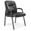 <strong>Series 100 High-Back Leather Guest Chair</strong> by Mayline Group