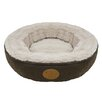 <strong>Best Pet Supplies</strong> Faux Leather Doughnut Bed