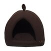 Dark Brown Corduroy Cabana Pet Bed