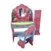 Fairy Dressing Study Table and Chair All 4 Kids