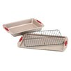 <strong>Signature 3 Piece Bakeware Set</strong> by Paula Deen