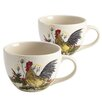 <strong>Signature Southern Rooster Jumbo MugSet of 2)</strong> by Paula Deen