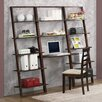 4D Concepts Arlington Bookcase with Desk