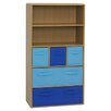 "<strong>Boy's Storage 47.3"" Bookcase</strong> by 4D Concepts"
