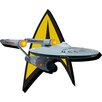 <strong>NMR Distribution</strong> Star Trek - Ship and Logo Magnet