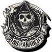 NMR Distribution Sons of Anarchy - Emblem Magnet