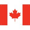 <strong>NMR Distribution</strong> Canada Flag Tin Sign Graphic Art