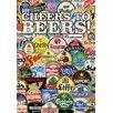 NMR Distribution Cheers To Beers Tin Sign Vintage Advertisement
