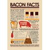 NMR Distribution Bacon Facts Tin Sign Graphic Art