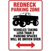 <strong>NMR Distribution</strong> Redneck Parking Tin Sign Graphic Art