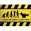 NMR Distribution Man Cave - Cave To Cave Tin Sign Graphic Art
