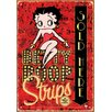 <strong>NMR Distribution</strong> Betty Boop Comic Strips Tin Sign Vintage Advertisement