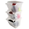 Iris Stackable Storage Bins (Set of 6)