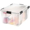Iris Weather Tight Plastic Storage Box (Set of 4)