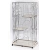 <strong>3-Tier Wire Cat Cage</strong> by Iris