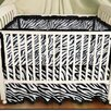 <strong>Sin In Linen</strong> Zebra Baby 2 Piece Crib Bedding Set
