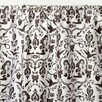 Sin In Linen Raven's Cotton Sateen Rod Pocket Curtain Panel