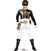 Advanced Graphics Black - Power Rangers Megaforce Cardboard Stand-Up
