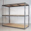"<strong>Rivet Wedge-Lock Bulk 84"" H 3 Shelf Shelving Unit Starter</strong> by Republic"
