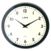 <strong>Metal School Wall Clock</strong> by Leni