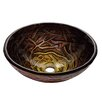 Kraus Dryad Glass Vessel Sink