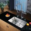 "<strong>Kraus</strong> 32"" x 19"" Undermount Kitchen Sink with Faucet and Soap Dispenser"