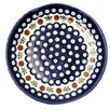 <strong>Euroquest Imports Polish Pottery</strong> Pattern 41A 12 oz. Rimmed Bowl
