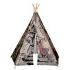 <strong>Hideaway 5 Panel Tank Teepee</strong> by Dexton Kids