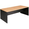 <strong>Desk in Beech / Iron Grey</strong> by Cooper Furniture