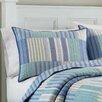 Nautica Belle Isle Cotton Quilt in Blue