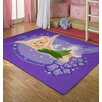 Disney Tinkerbell Purple Kids Rug EasyBuy
