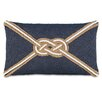 Eastern Accents Ryder Strauss Denim Knot Accent Pillow