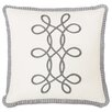 <strong>Edith Baldwin with Braid / Ribbon Accent Pillow</strong> by Eastern Accents