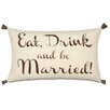 Eastern Accents Wedding More Than Words Pillow