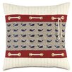 Eastern Accents Nautical Whale Pants Pillow