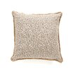 Rayland Polyester Parrish Fawn Decorative Pillow with Pleated Ribbon