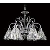 Asfour Lead Crystal 6 Light Chandelier 031-(B)-20 Hilight