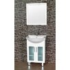<strong>P Series 55cm Semi Recessed Vanity with Legs</strong> by Ostar