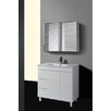 QL Series 90cm Shadow Line Slim China Top Vanity with Legs Ostar